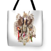 Traditional Pow-wow Dancer 1 Tote Bag