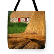 Traditional Thatching, Ireland Tote Bag