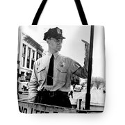 Traffic Cop, 1936 Tote Bag