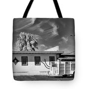 Trailer Town Bw Tote Bag