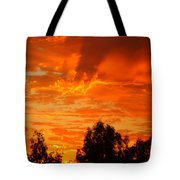 Trailing Clouds Of Glory Tote Bag