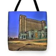 Michigan Central Train Depot Station Detroit Mi Tote Bag
