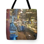 Train Galley Tote Bag
