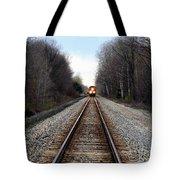 Train Head On Tote Bag