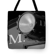Train Headlight Tote Bag
