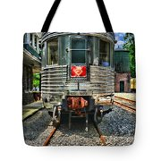 Train Of The Future Tote Bag