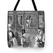 Train Travel: First Class Tote Bag