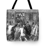 Train Travel: Second Class Tote Bag