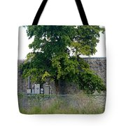 Train Tree Tote Bag