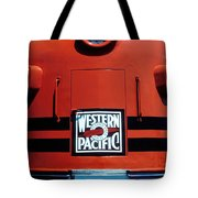 Train Western Pacific Tote Bag by Garry Gay