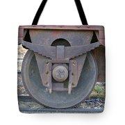 Train Wheel Tote Bag