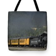 Trainload Of Tourists Tote Bag