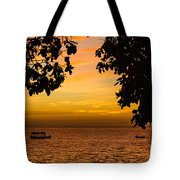 Tranquility Beyond The Trees Tote Bag