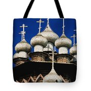 Transfiguration Cathedral On Kizhi Tote Bag