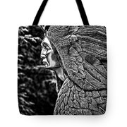 Transformation Through Forgiveness - Bw Tote Bag by Christopher Holmes