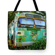 Transit Bus Tote Bag