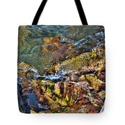 Transparent Tranquility  Tote Bag
