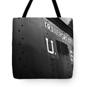 Transportation Corps Car Tote Bag