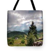 Transylvania Landscape - Romania Tote Bag