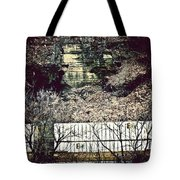 Travel By Train Tote Bag