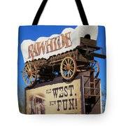 Traveling West Tote Bag