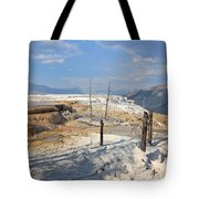 Travertine Limestone Terraces Tote Bag
