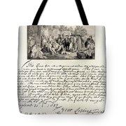 Treaty Between William Penn Tote Bag