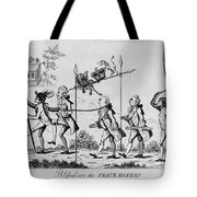 Treaty Of Paris, 1783 Tote Bag