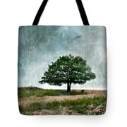 Tree And Wildflowers  Tote Bag