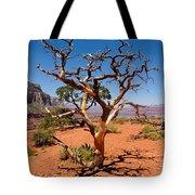 Tree At Cedar Ridge Tote Bag