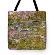 Tree Bark Moss Tote Bag