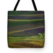 Tree In The Palouse Tote Bag