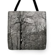 Trees And Hillside Tote Bag