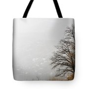 Trees And Pampas Grass Tote Bag