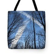 Trees And Trails Tote Bag