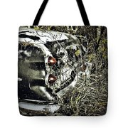 Trees And Trunk Tote Bag