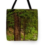 Trees By The Stream Tote Bag