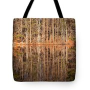 Trees In The Comfort Of Trees Tote Bag