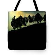 Trees On Ridge Tote Bag
