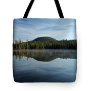 Trees On The Edge Tote Bag