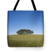 Trees On The Hill Tote Bag