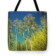 Treetop Color Tote Bag