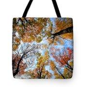 Treetops Tote Bag by Elena Elisseeva