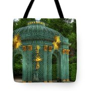 Trellis At Schloss Sanssouci Tote Bag
