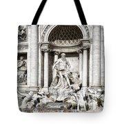 Trevi Fountain Detail Tote Bag