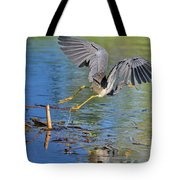 Tri On The Hunt Tote Bag