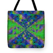 Triangulation Revisited Tote Bag