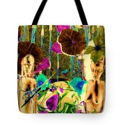 Tribal Color Tote Bag