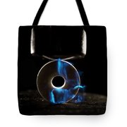 Triboluminescence Tote Bag