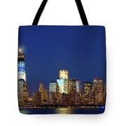 Tribute Of Lights Nyc 2012 Tote Bag